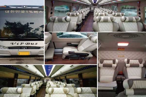 airport charter bus korea