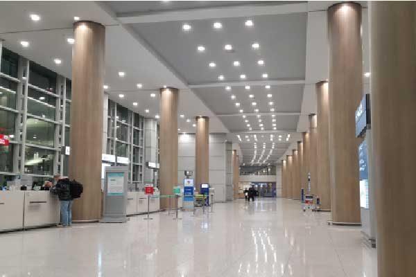 incheon airport t2 arrival floor
