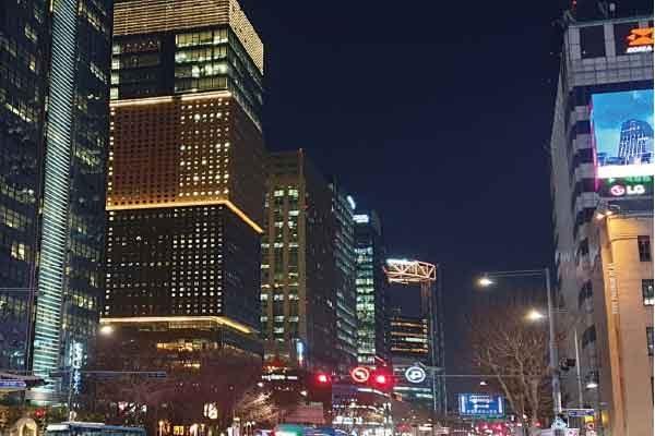 seoul city main street