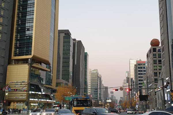 seoul city gangnam street