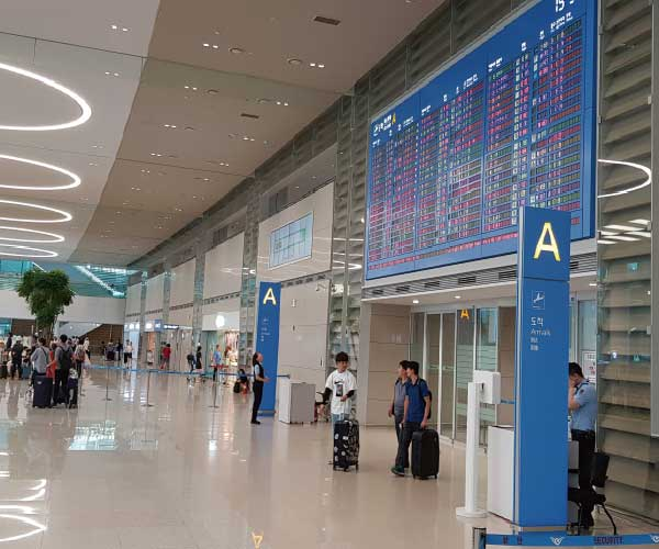 incheon airport arrival hall