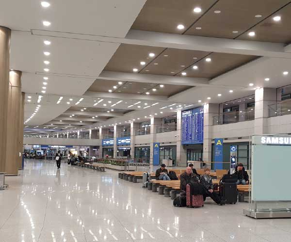 incheon airport t2 arrival hall