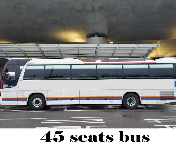 korea seoul bus rental