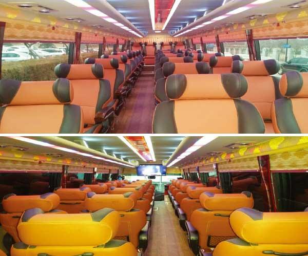 luxury bus service