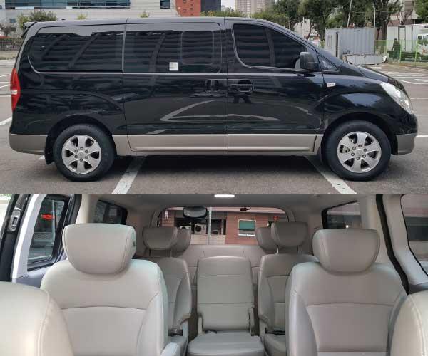 van rental with driver